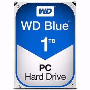 WD Blue 1TB SATA portable hard drive