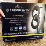 HD Antenna Review Clearstream 2v